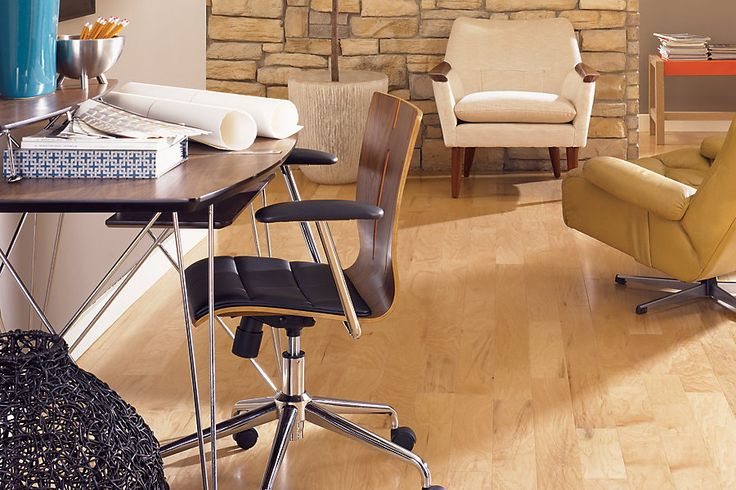 Mohawk aria natural hickory hardwood flooring with for Mohawk flooring headquarters