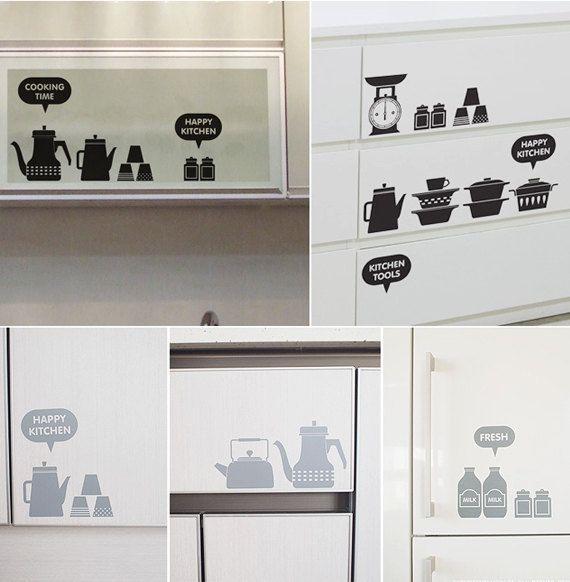 17 migliori immagini su wallstickers stickers e adesivi - Stencil adesivi per mobili ...