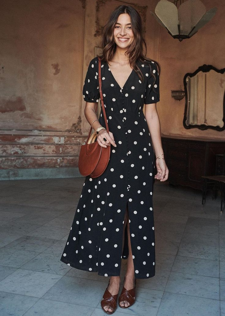 The Daily Hunt: Polka Dot Maxi Dress and More New day, new finds! Hope you all e…