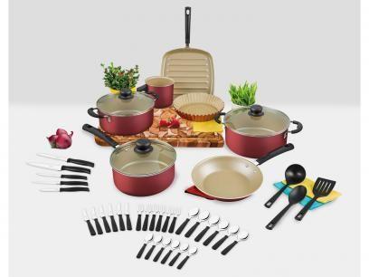Kit Cozinha Versalhes 20698/773 39 Peças - Tramontina com as melhores condições você encontra no Magazine Ubiratancosta. Confira!