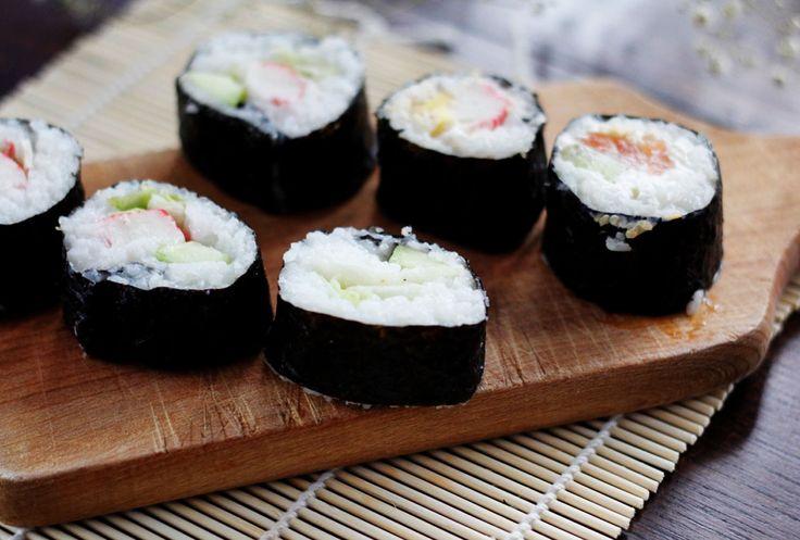 Jak zrobić domowe sushi?:)