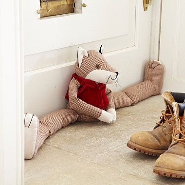 Rufus Fox Draught Excluder - From Lakeland