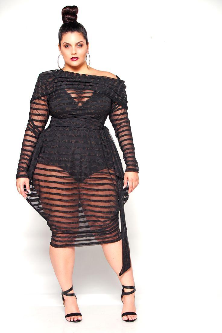 Off Shoulder Sheer Slouch Poolside Dress In 2019