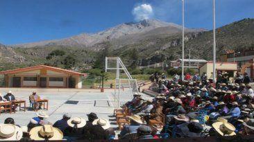 La actividad del volcán genera provoca temblores. (Foto: Archivo El Comercio) Setiembre 28, 2015.