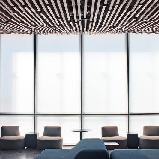 Modular Illuminated Ceiling Systems - LIGHTFRAME / SEFAR Architecture