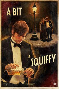 squiffy = slightly drunk