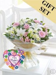 Country Garden Hand-Tied & Mother's Day Balloon