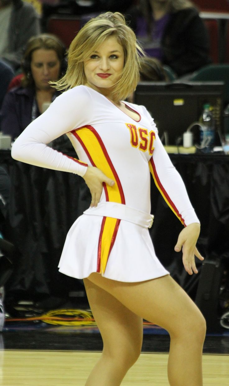 USC Trojans Cheerleader