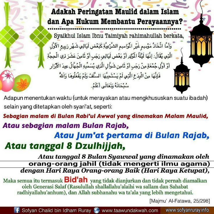 Pin di Bid'ah dalam Ajaran Islam, yang Tidak Ada