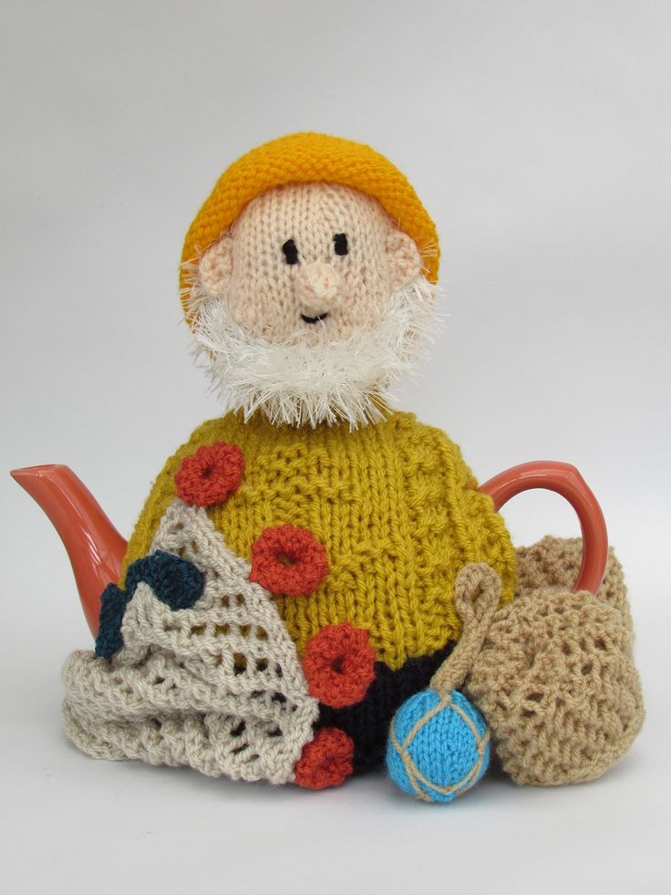 Bringing new meaning to a Cornish tea! http://www.teacosyfolk.co.uk/Cornish-Fisherman-Tea-cosy-p-162.php