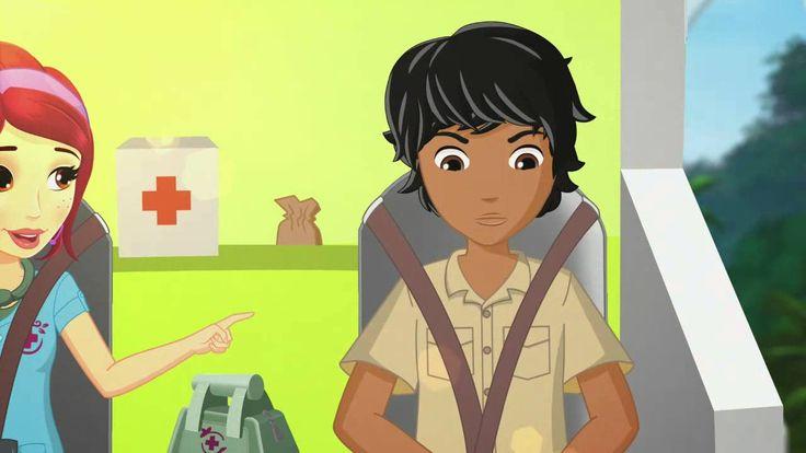 LEGO®  Friends Dzsungel -Mackó a pácban, 10.rész
