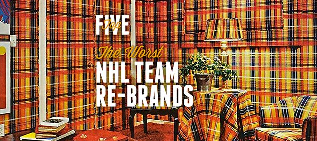 TOP 5: THE WORST NHL TEAM RE-BRANDS