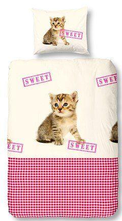 Kids-Style Dekbedovertrek 3120 Kat sweet