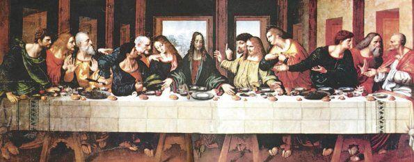 La Ultima Cena- Leonardo Da Vinci. Nuevo Testamento