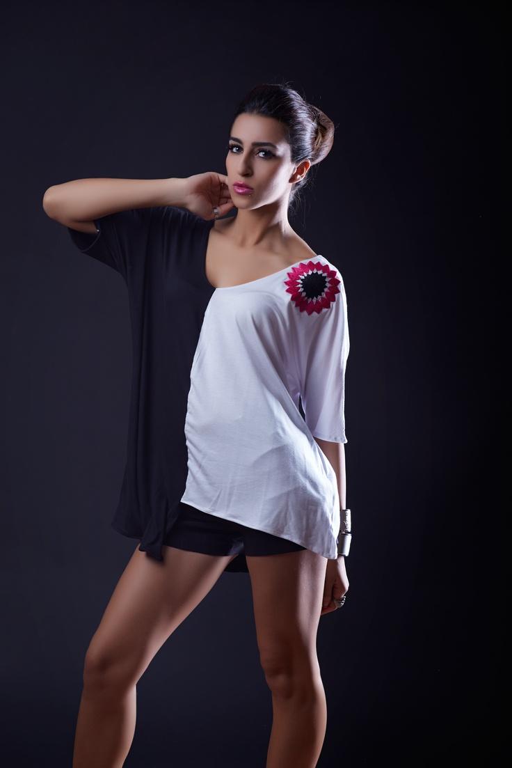 Cupro Skirt - Arabesqe with color by VIDA VIDA Browse For Sale All Size RnDa3Tko
