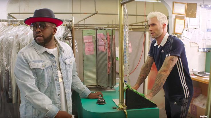 awesome Big Boi And Adam Levine Fight Over Dry Cleaning In New 'Mic Jack' Video