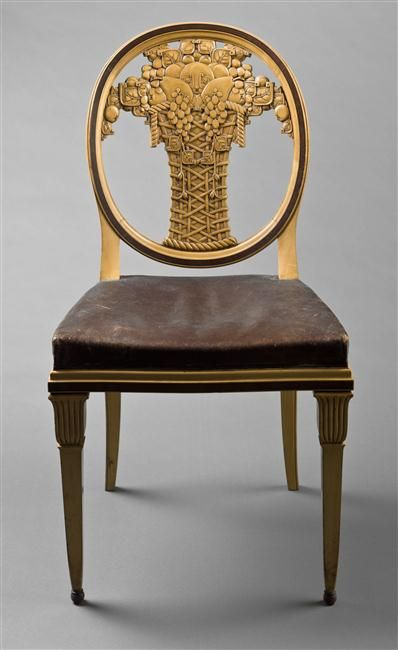 Chair by Paul Follot, early 20th C. / Paris, musée d'Orsay