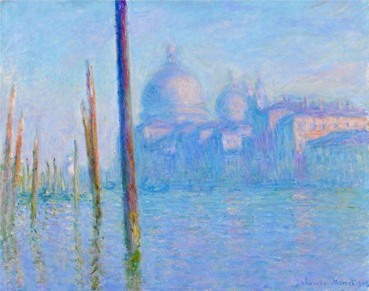 The Grand Canal, Venice - Claude Monet, 1908