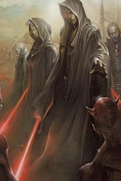 The Sith.... I can't help but like them better than the Jedi, sometimes.