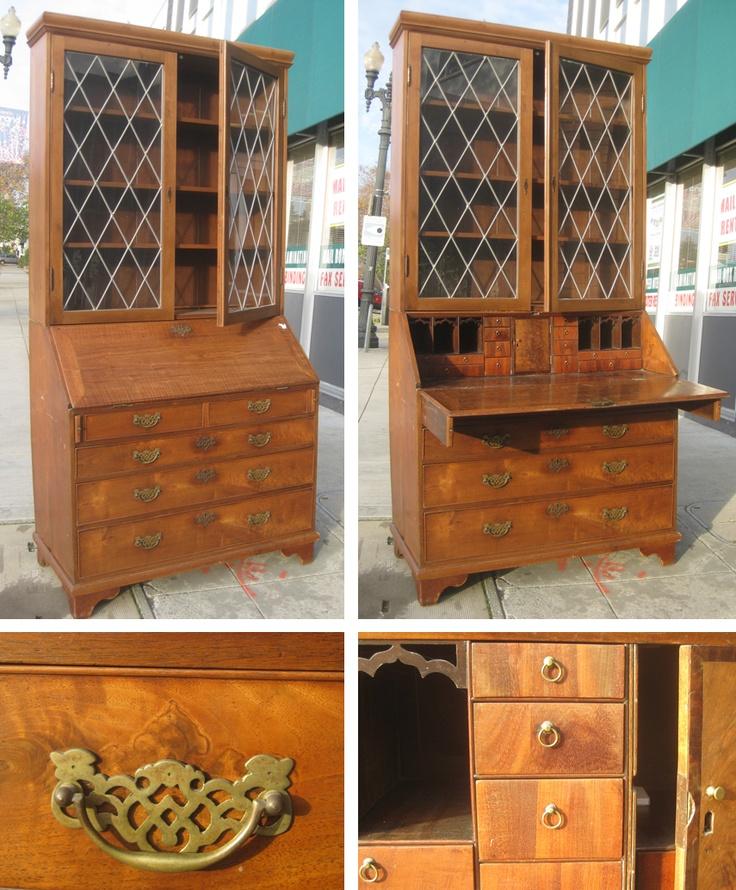 17 best ideas about antique secretary desks on pinterest