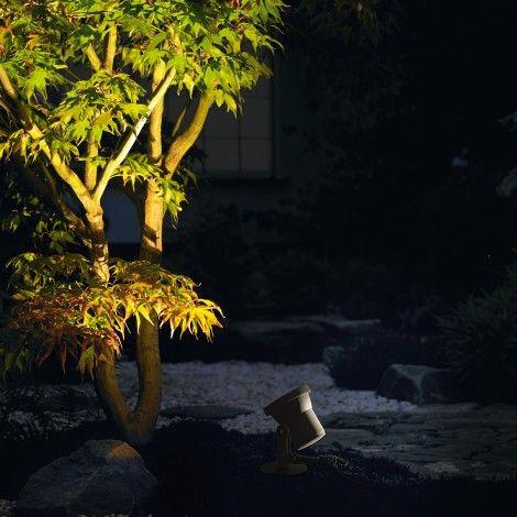 Bega LED Scheinwerfer zum Anstrahlen von Pflanzen oder Skulpturen, 4,2 W, 450 lm