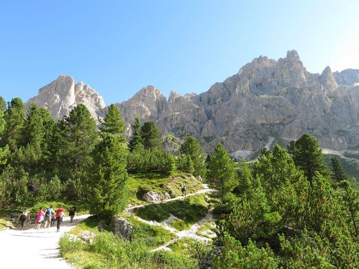 Escursione organizzata dall'hotel sul Catinaccio - una meraviglia