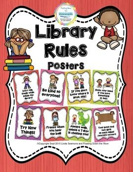 I made these bright custom posters for my librarian. They are the perfect…