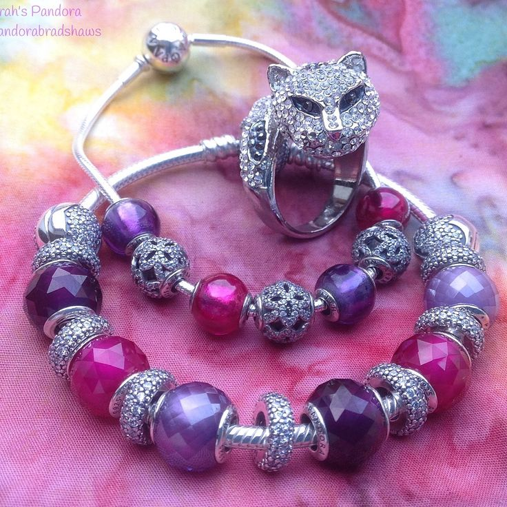 Pandora Charms Cat Pink