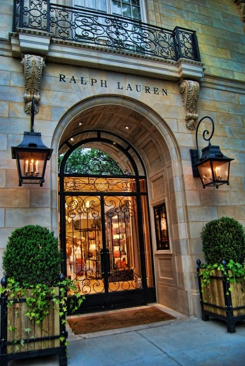 Shopping is neat. Ralph Lauren store, Greenwich, Connecticut