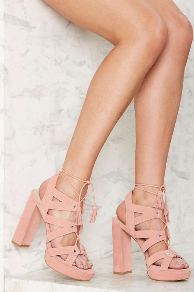 Shellys London Fiona Suede Platform - What's New