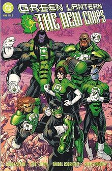 and the Green Lantern Corps