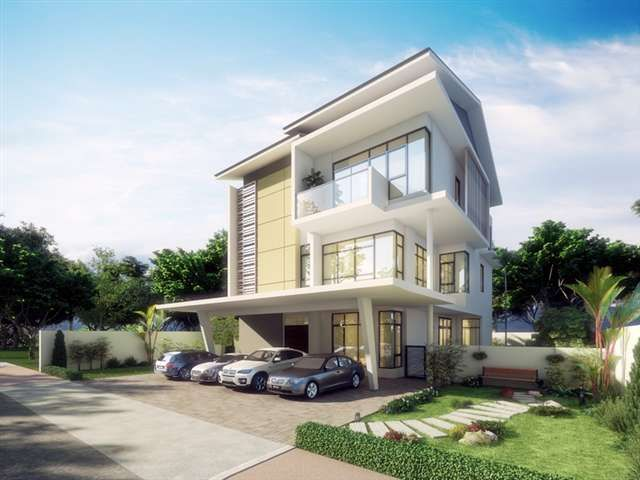 Modern house plans malaysia