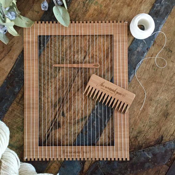 Kleiner Bambus Weben Webstuhl Kit