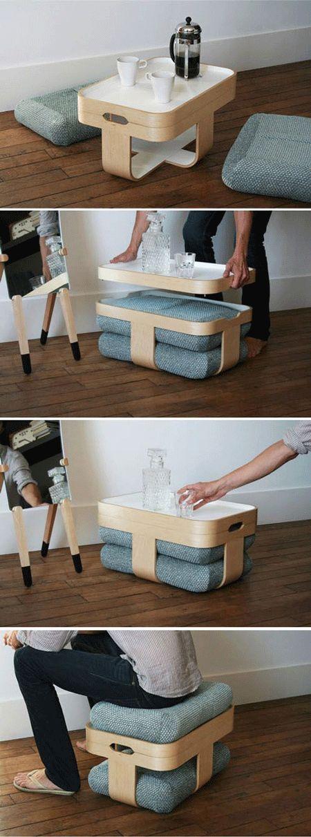 La tendencia en muebles modulares y multifuncionales es tendencia y a mi me gusta. #PiaOrganiza.es #PiaSweetHome.com