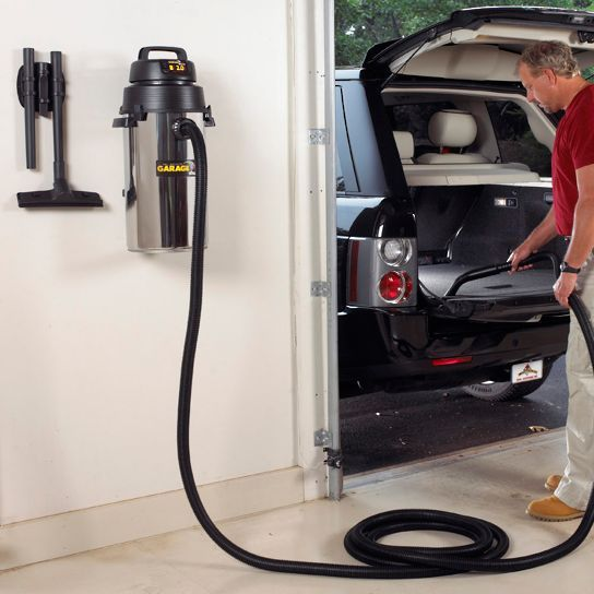 Shop Vac Wall Mount Stainless Steel Garage Vacuum Sports & Outdoors - Sports & Fitness - home gym - http://amzn.to/2jsMKm8