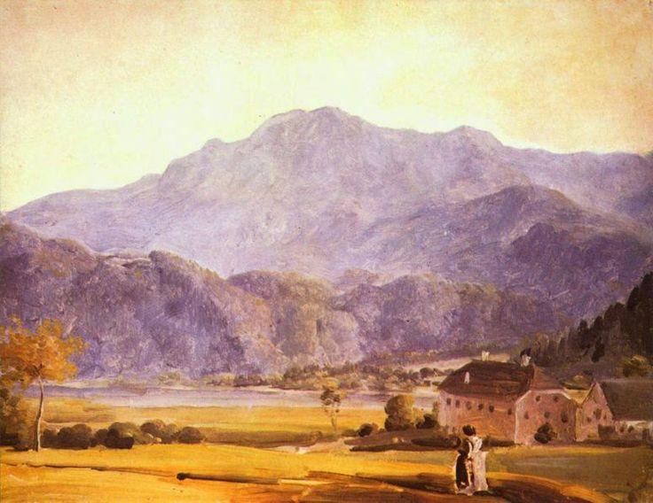 German painter JOHANN GEORG VON DILLIS (1759-1841)