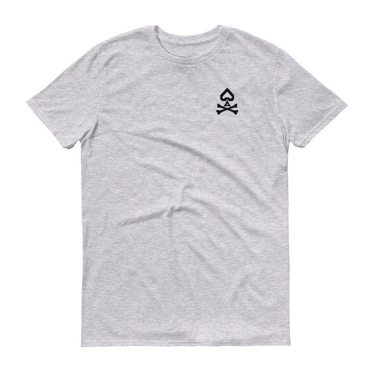 'Spade and Crossbones' Short sleeve t-shirt