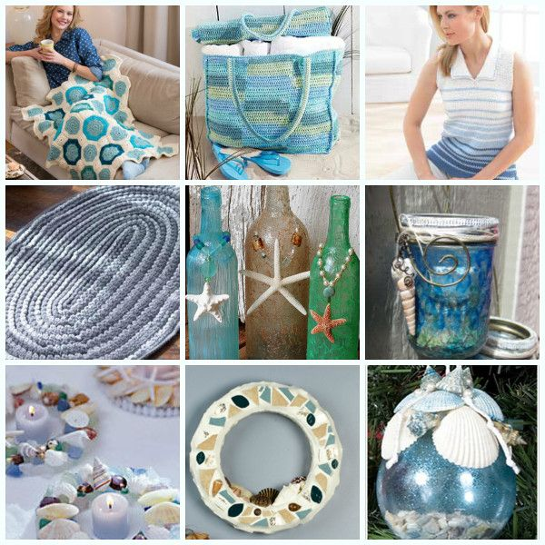 36 Breezy Beach Inspired Diy Home Decorating Ideas: 36 Best Images About DIY Beach Decor On Pinterest