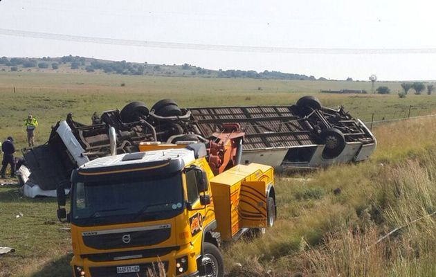 11 ANC supporters killed in bus accident in Free State