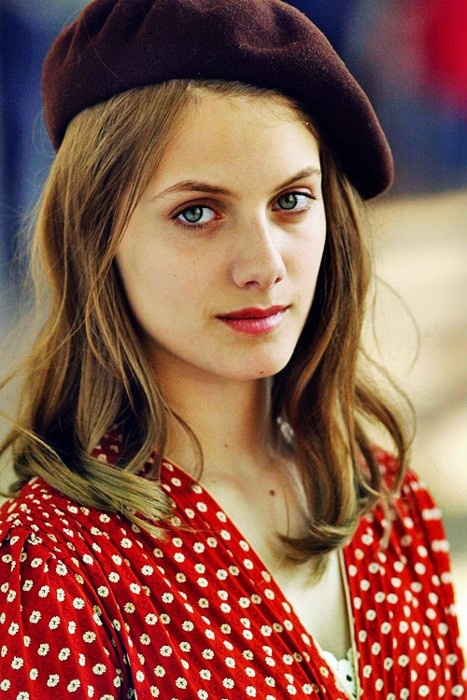 Melanie Laurent - I watched her in Beginners and loved the movie! I love French style!