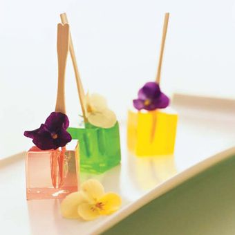 jelly and flowers