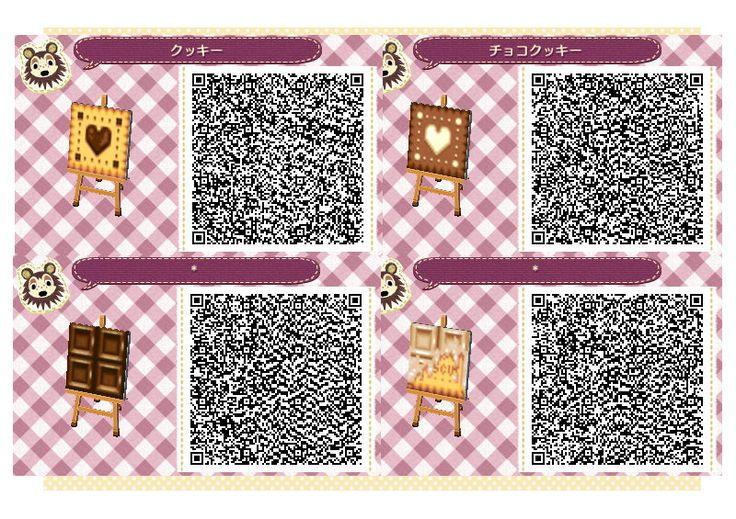 Animal Crossing: New Leaf & HHD QR Code Paths Set 4 of 4