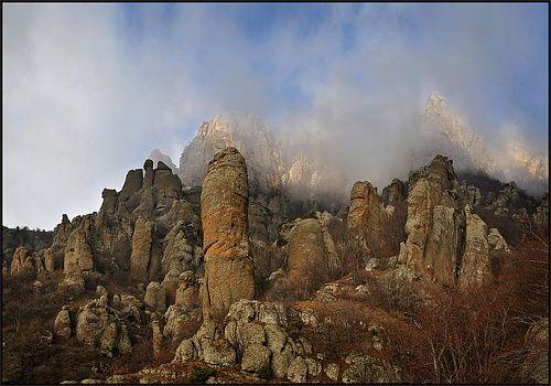 "35PHOTO - Владимир Метцгер - Крым, ""Долина приведений""-2"