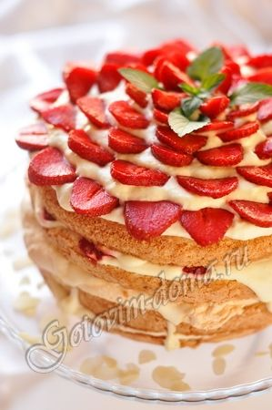 Amazing cake! Please note, the recipe is in RUSSIAN!!!