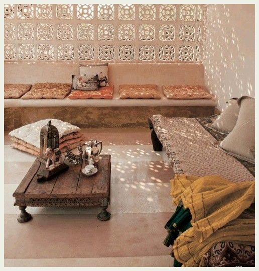 <3: Lights, Idea, Living Rooms, Outdoor Living, Low Tables, Coff Tables, Moroccan Style, Sit Rooms, Outdoor Spaces