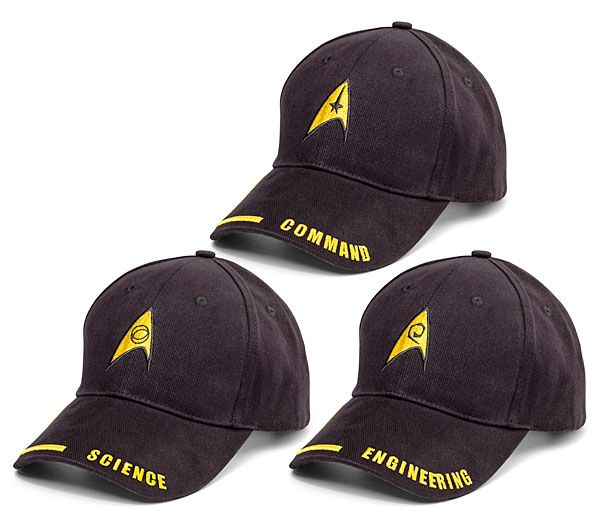 Star Trek Uniform Hats---for me and my Trekkie buddies ;)