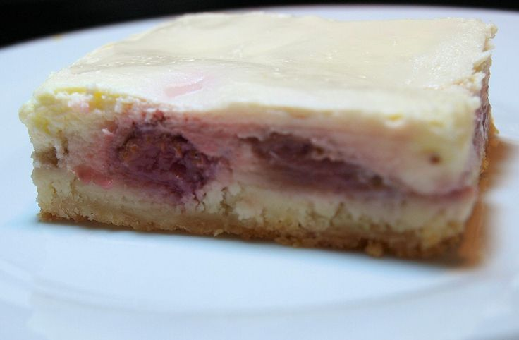 Rhubarb Cream Cheese Bars - a delightful combination of two of my favorite things!!