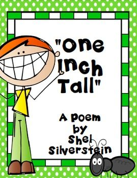 This is an adorable poem to help with your measurement unit!What a fun poem by Shel Silverstein!Enjoy!