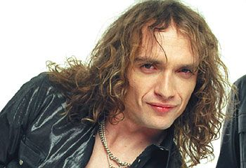 Justin Hawkins from hot leg and the darkness