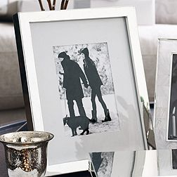 Classic Silver Photo Frame 8x10